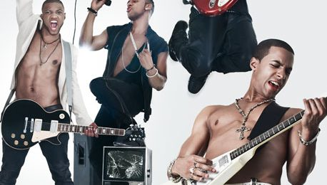 JLS Perform On Fox 5 Morning News