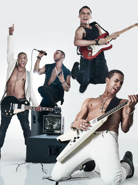 jls fab Hot Shots: JLS Get Fabulous