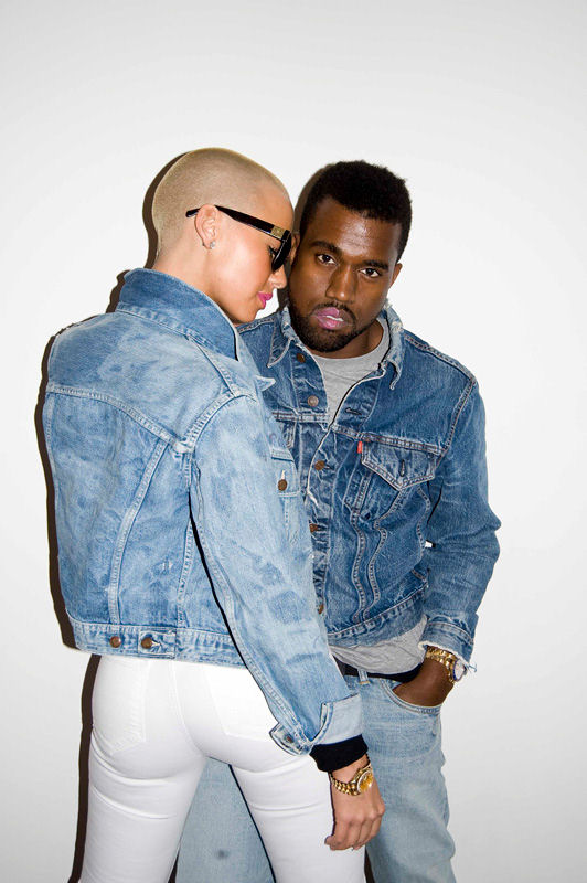 kanye amber 43 Kanye West & Amber Roses Racy Shoot