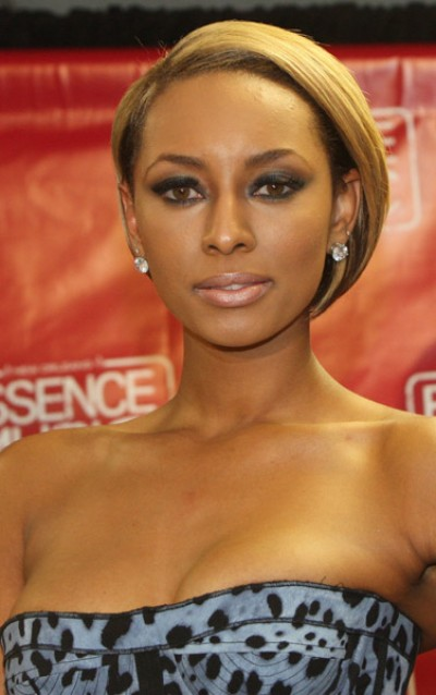 tattoos flower keri hilson blonde hair 2010