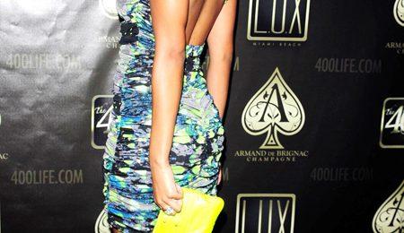 Hot Shot: Keri Hilson Arrives At Lux Nightclub