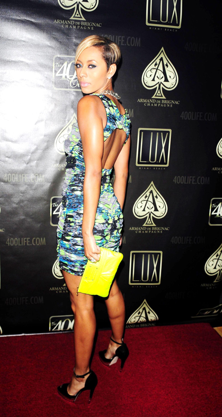 keri miami Hot Shot: Keri Hilson Arrives At Lux Nightclub