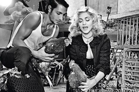 madonna 45 Hot Shots: Madonnas D&G Shoot