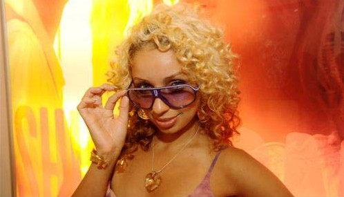 mya e1279614560604 Hot Shots: Mya Unveils New Blonde Do