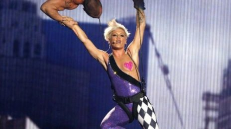 Video: Pink Injured After Air-Stunt Goes Wrong