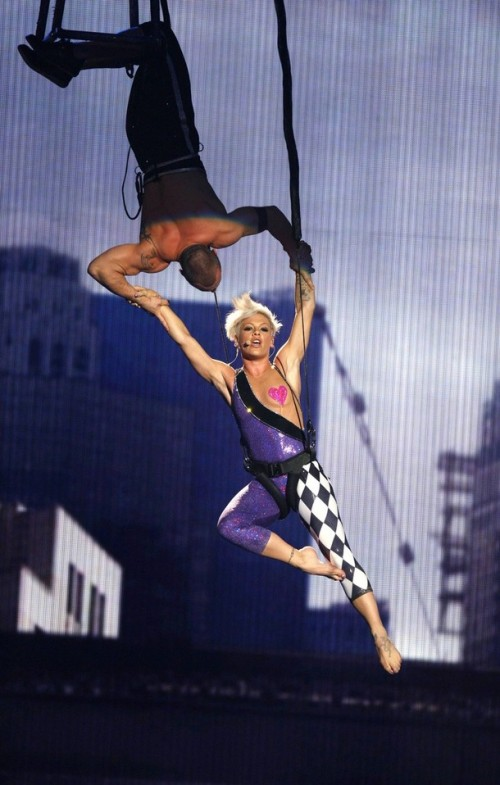 Video: Pink Injured After Air Stunt Goes Wrong