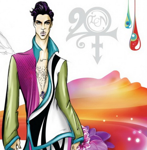 prince20 Prince Unveils 20Ten Album Cover