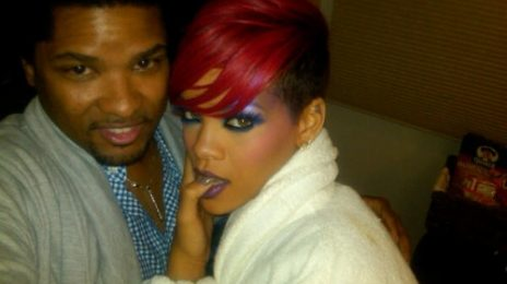 Hot Shot: Rihanna On Set Of Doritos Shoot