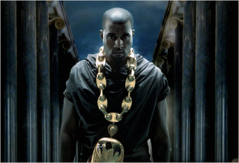 yeezy1 Hot Shot: Kanye West On The Set Of Power Video