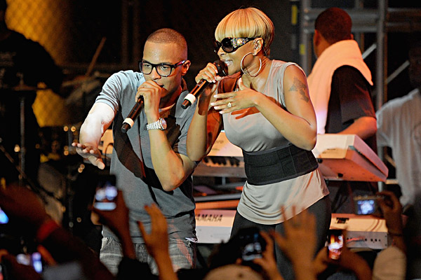 6 Hot Shot: T.I. & Mary J. Blige Perform At Secret Concert