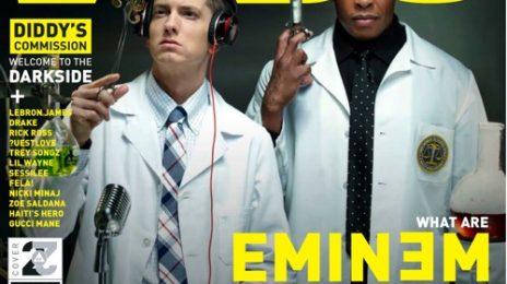 Hot Shot: Eminem & Dr. Dre Cover VIBE