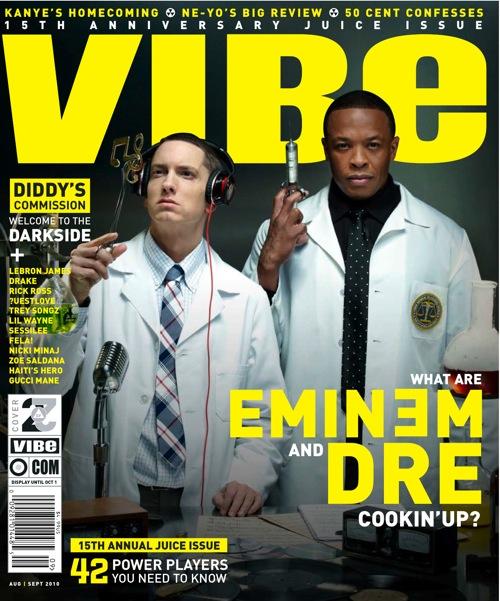 Emdrea Hot Shot: Eminem & Dr. Dre Cover VIBE