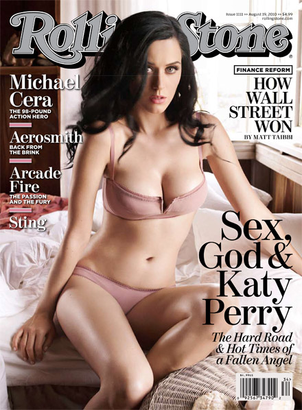 Katy Hot Shot: Katy Perry Covers Rolling Stone