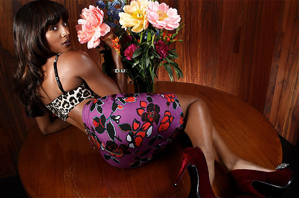 a b Hot Shots: Alexandra Burke Does Look Magazine