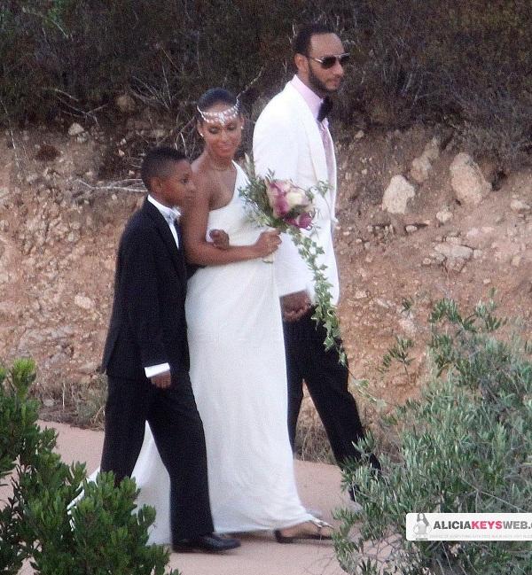 alicia44 Hot Shots: Alicia Keys & Swizz Beats Wedding
