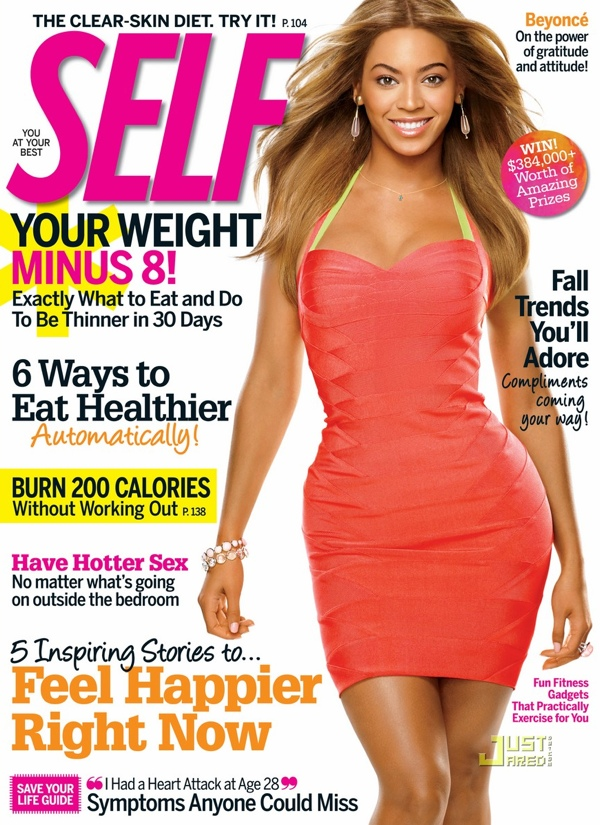 bey Hot Shot: Beyonce Covers SELF Magazine