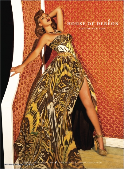 beyonce 45 Hot Shots: Beyonce Strikes A Pose For Dereon