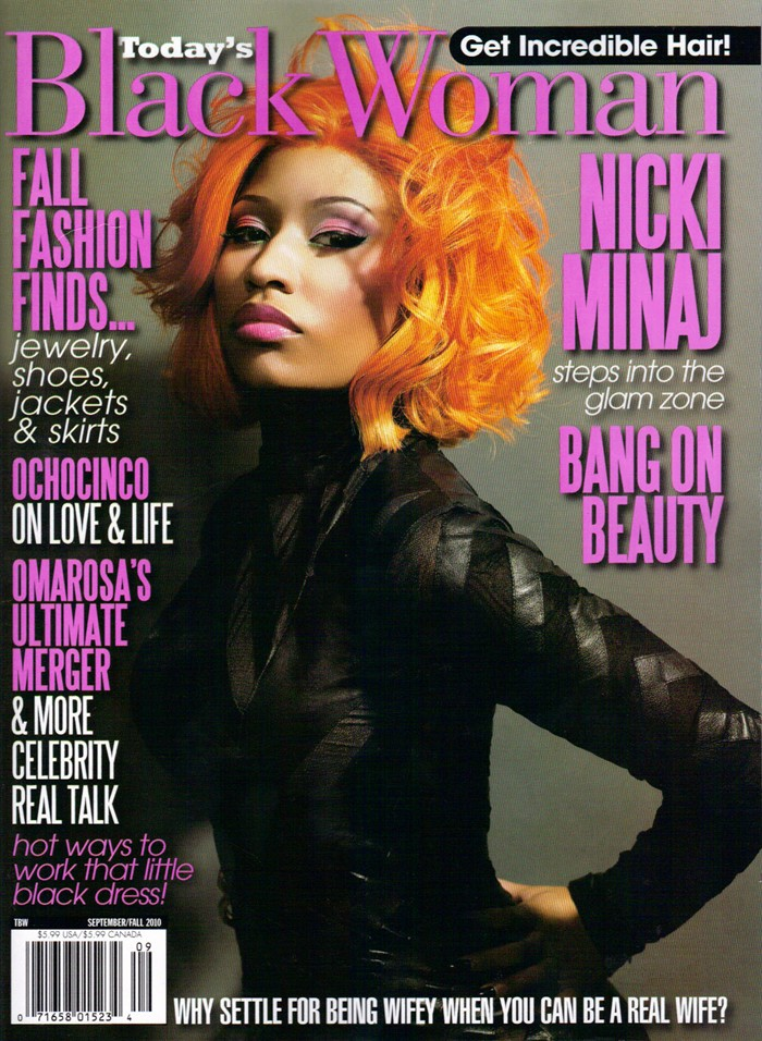 bicki Hot Shot: Nicki Minaj Covers Todays Black Woman