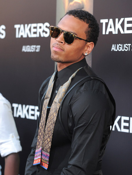chris brown takers1 Video: Chris Brown Performs At Takers Premiere