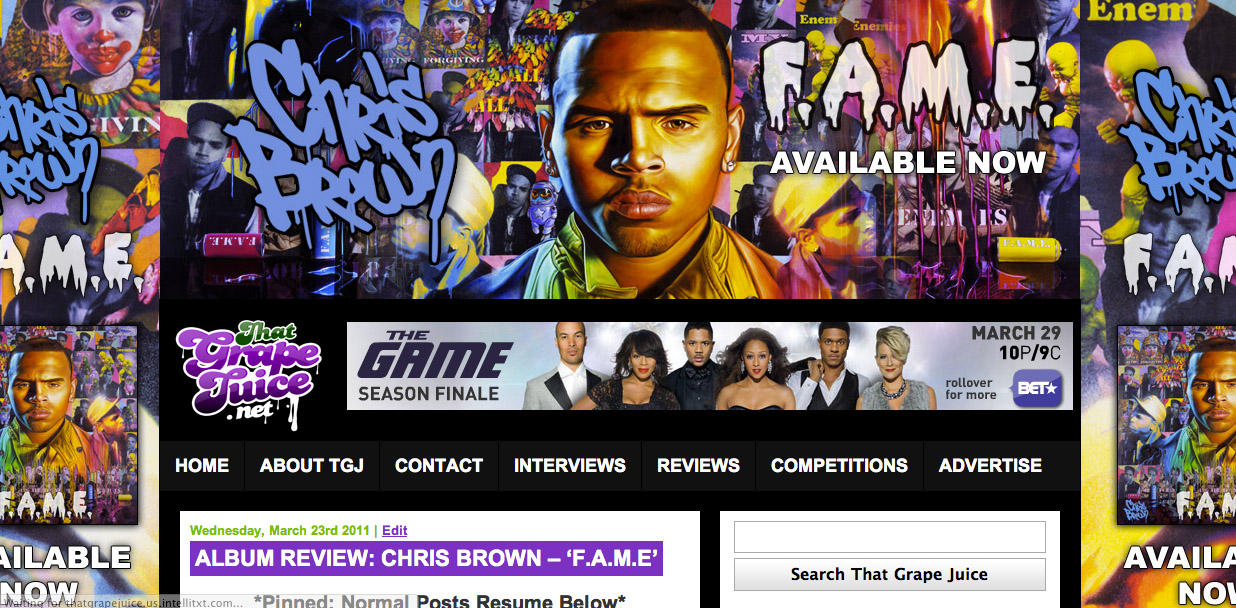 chris brown tgj skin