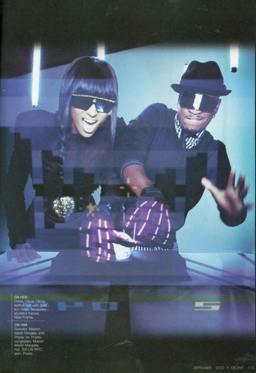cine Hot Shots: Ne Yo & Ciara Team Up For EBONY Spread