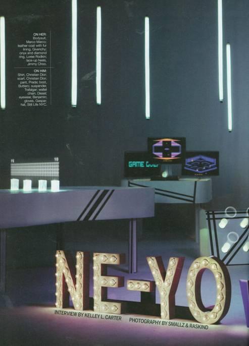cine7 Hot Shots: Ne Yo & Ciara Team Up For EBONY Spread