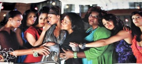 First Shot Of Janet Jackson & 'For Coloured Girls' Cast