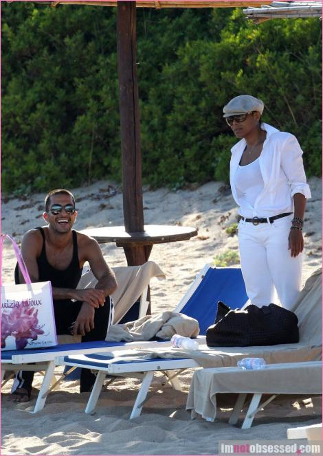 janet wissam 5 Hot Shots: Janet Jackson & New Boyfriend On Holiday
