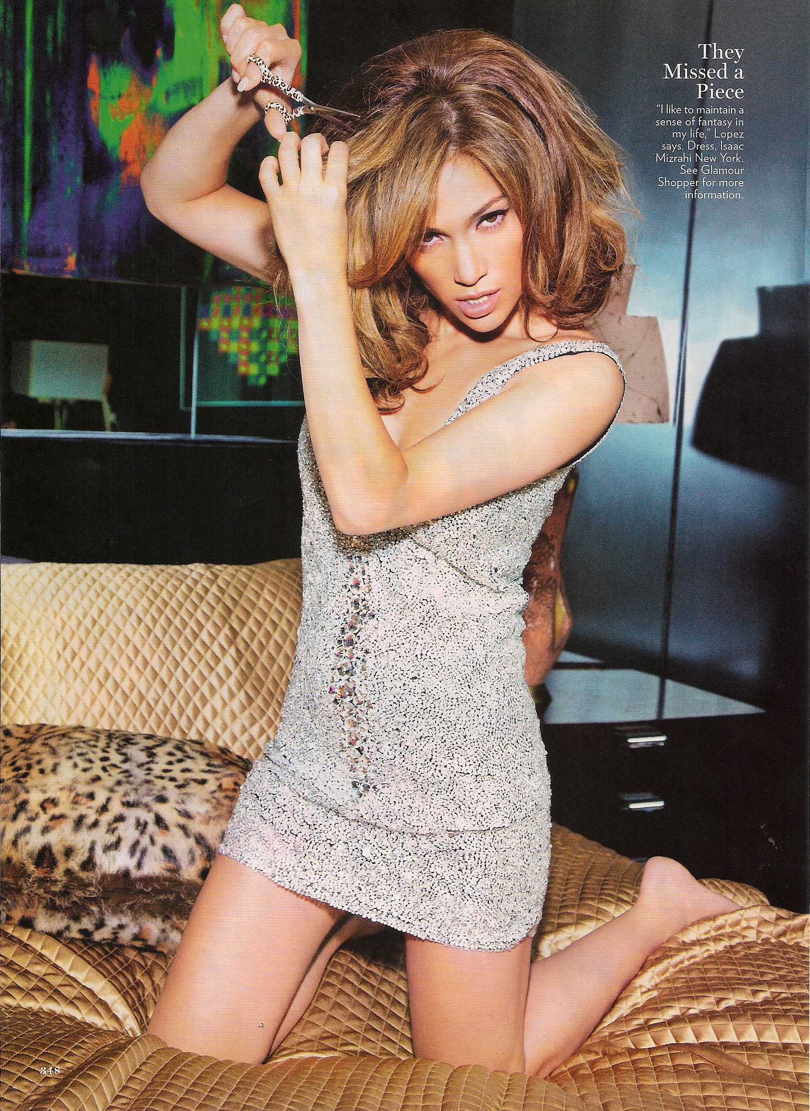 jen4 Hot Shots: Jennifer Lopez In Glamour Magazine