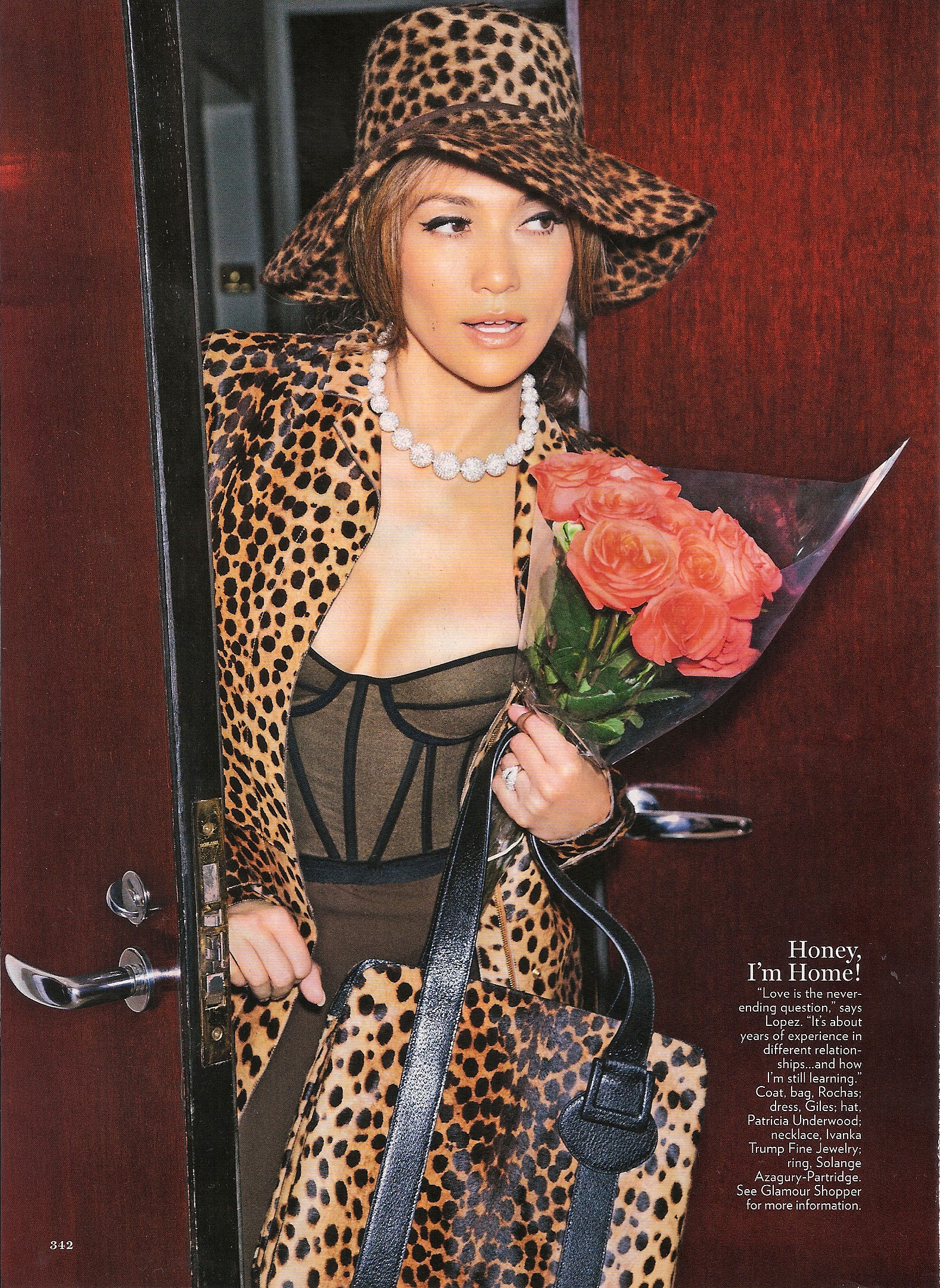 jen6 Hot Shots: Jennifer Lopez In Glamour Magazine