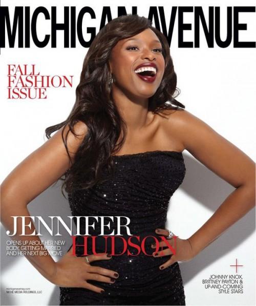 jhud 3 e1282072613167 Jennifer Hudson Covers Michigan Avenue