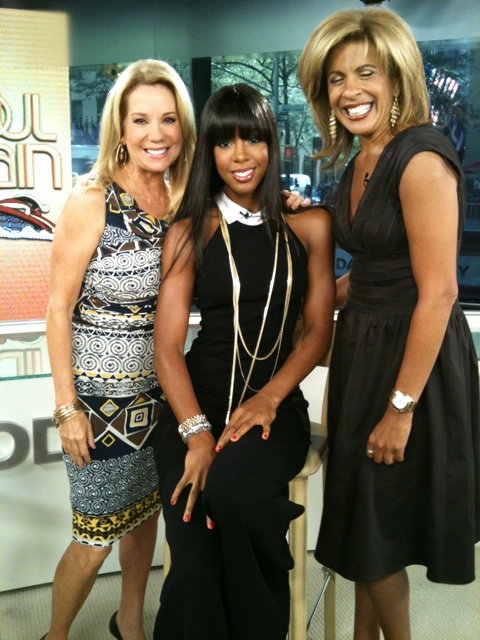 kelly 65 Hot Shot: Kelly Rowland Visits The Today Show