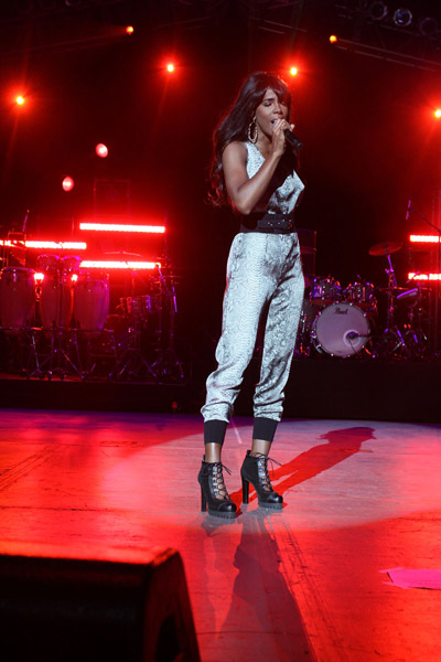 kelly b3 Hot Shots: Kelly Rowland Rocks Beatstock
