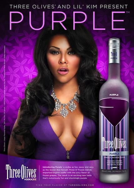 lil kim vodka Lil Kims Purple Promo Pic