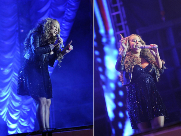 mariah 45 Hot Shots: Mariah Performs In Brazil