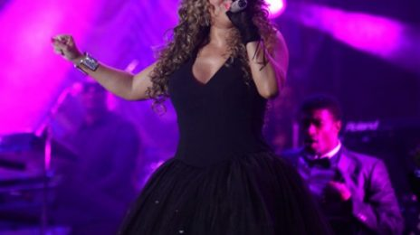 Hot Shots: Mariah Performs In Brazil