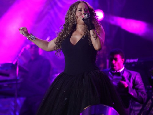mariah x e1282462990466 Hot Shots: Mariah Performs In Brazil