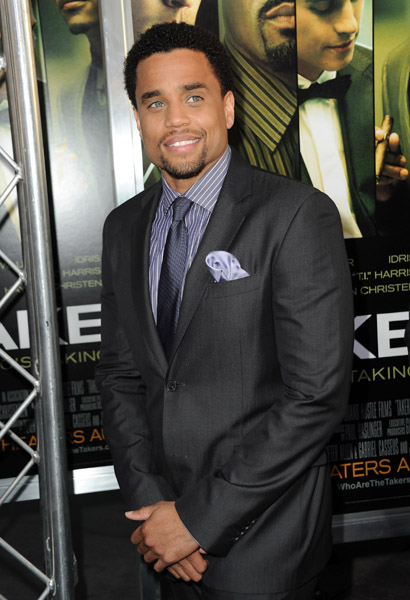 michael ealy Hot Shots: Stars At Takers Premiere
