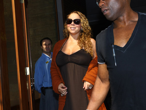 mmmm Hot Shots: Mariah Arrives In Brazil