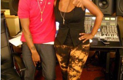 Hot Shot: Ne-Yo Hits Studio With Kandi