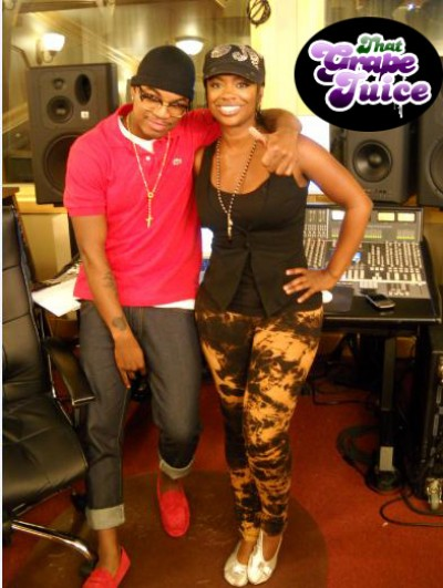 ne yo kandi e1282176497883 Hot Shot: Ne Yo Hits Studio With Kandi