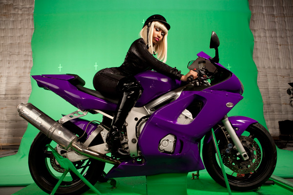Nicki Minaj is getting ready for the 2010 MTV VMA's by taking part in a
