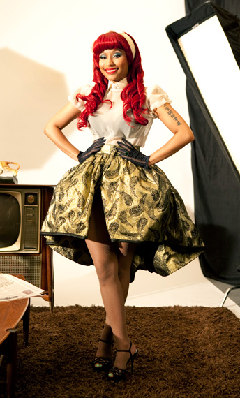 nicki3 Hot Shots: Nicki Minajs VMA Photoshoot