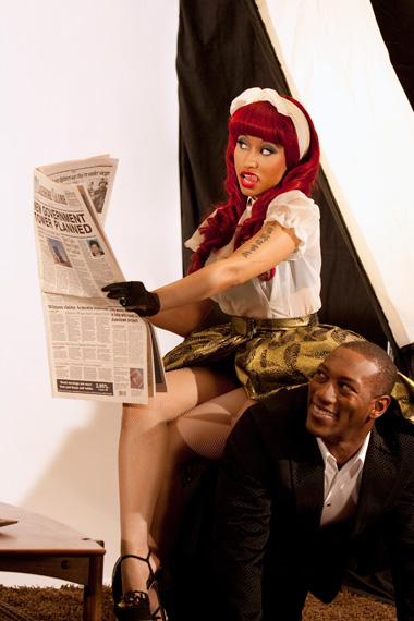 nicki6 Hot Shots: Nicki Minajs VMA Photoshoot