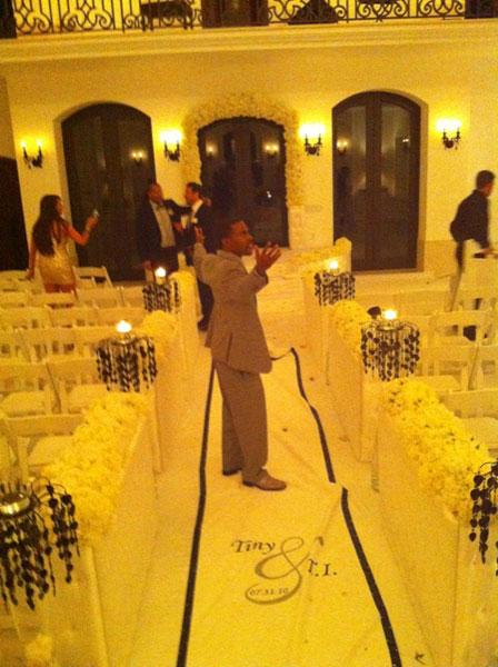 reception Hot Shots: T.I & Tinys Wedding