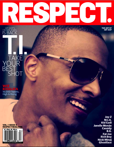 respecttip Hot Shot: T.I. Covers RESPECT