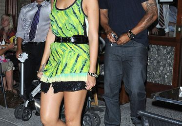 Hot Shot: Rihanna & Matt Kemp In NYC