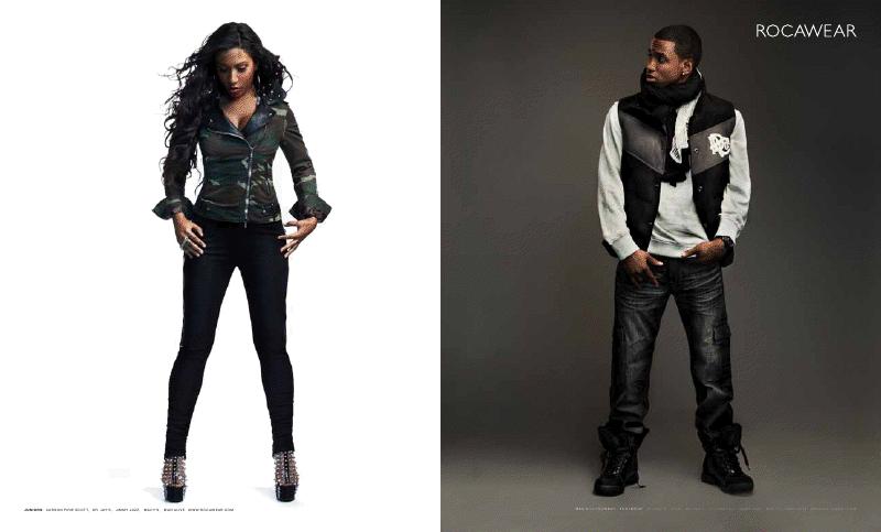 rock1 Hot Shots: Trey Songz & Melanie Fionas Rocawear Campaign