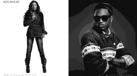 Hot Shots: Trey Songz & Melanie Fiona's Rocawear Campaign