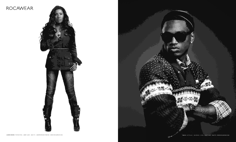 rock2 Hot Shots: Trey Songz & Melanie Fionas Rocawear Campaign